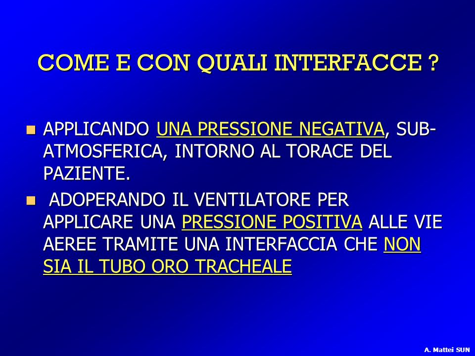 COME E CON QUALI INTERFACCE