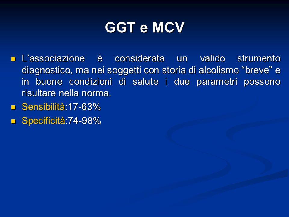 GGT e MCV