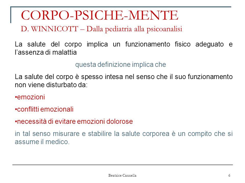 CORPO-PSICHE-MENTE D. WINNICOTT – Dalla pediatria alla psicoanalisi