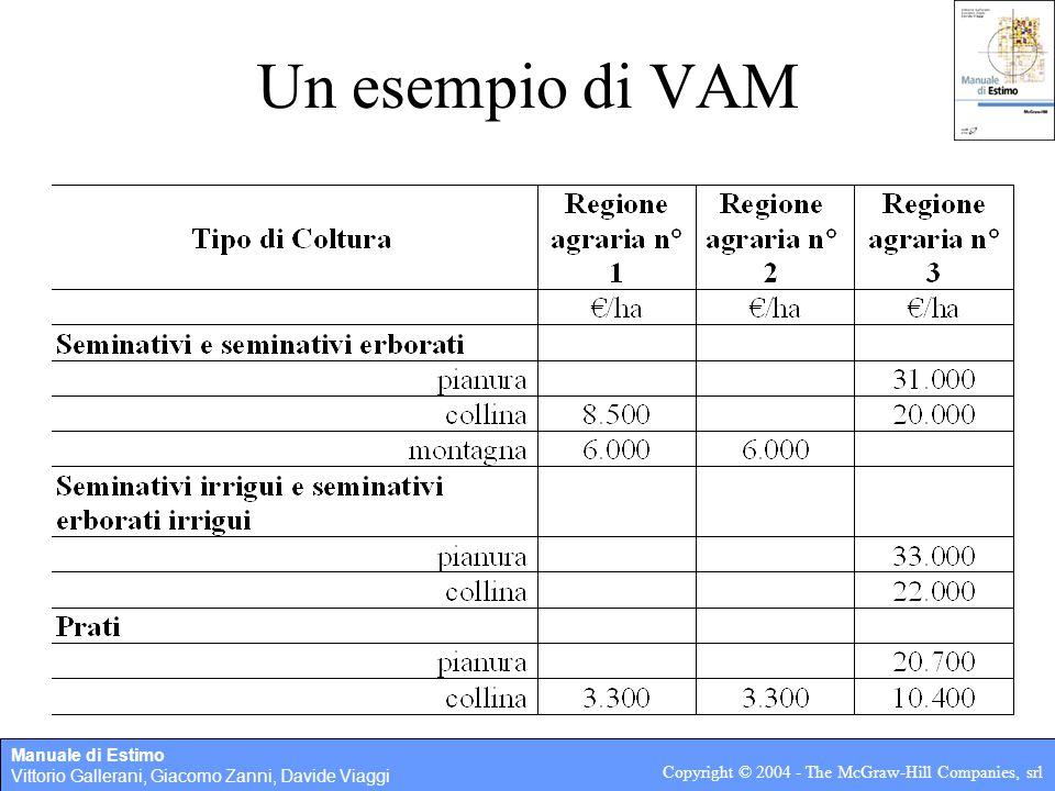 Un esempio di VAM