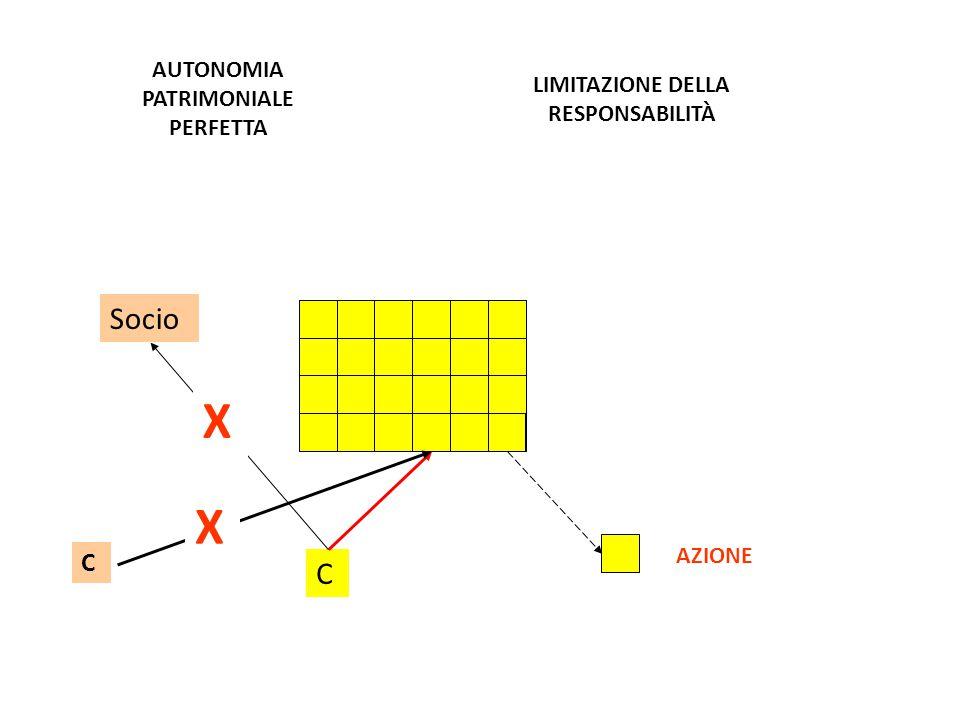 AUTONOMIA PATRIMONIALE PERFETTA LIMITAZIONE DELLA RESPONSABILITÀ