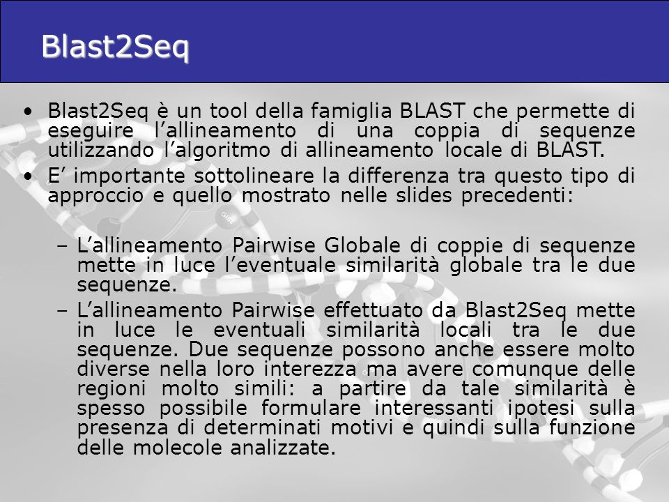 Blast2Seq