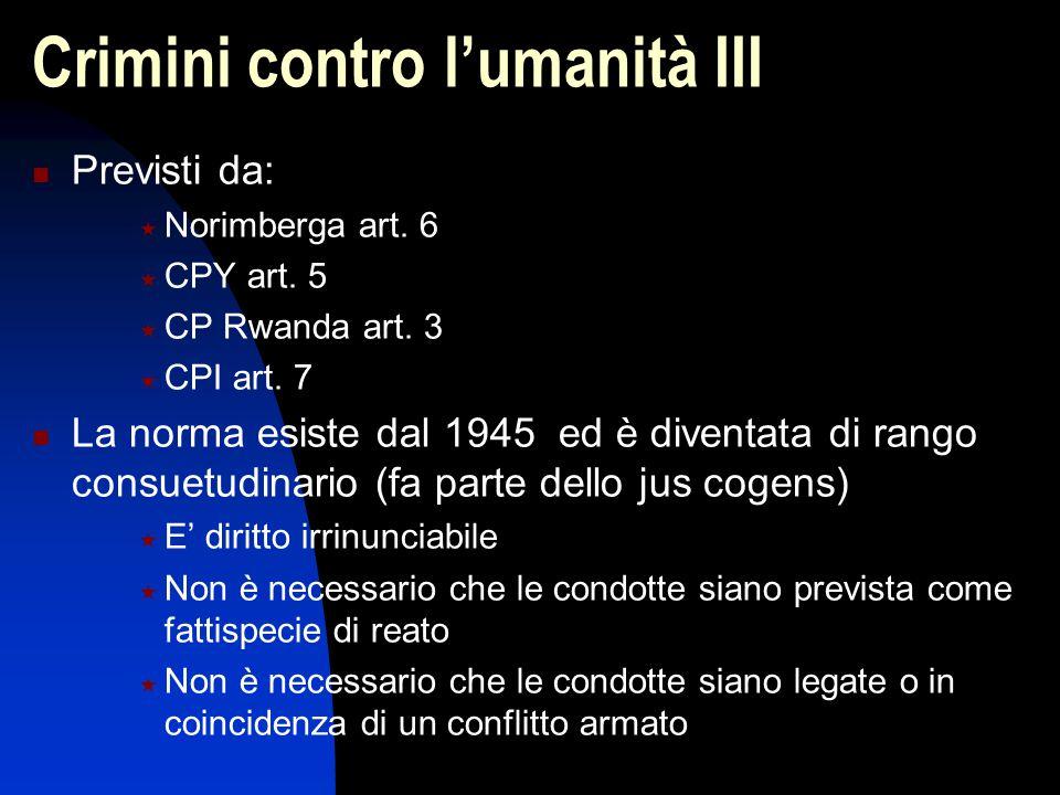 Crimini contro l'umanità III