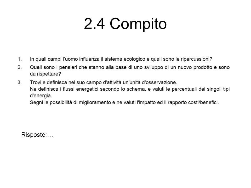2.4 Compito Risposte:…