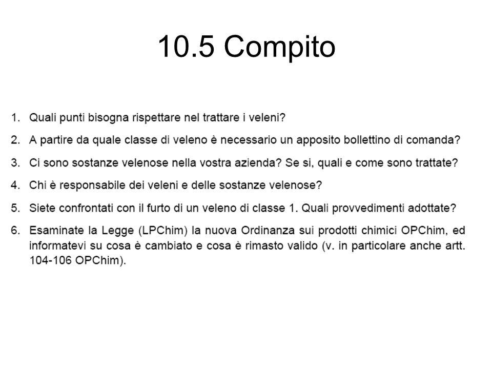 10.5 Compito