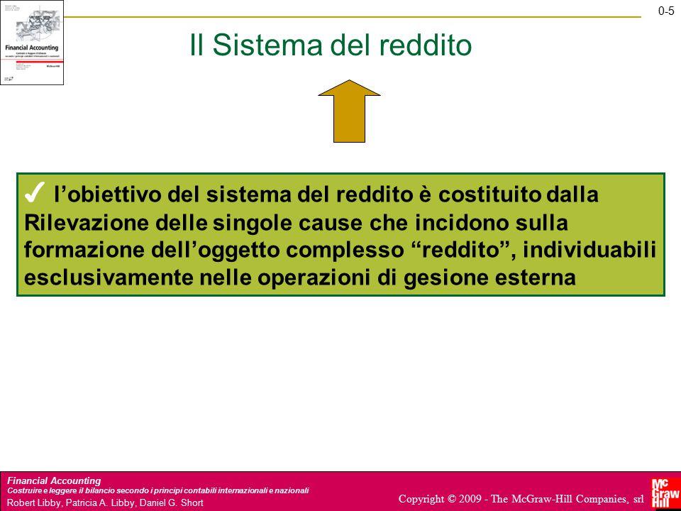 Il Sistema del reddito ✔ l'obiettivo del sistema del reddito è costituito dalla.