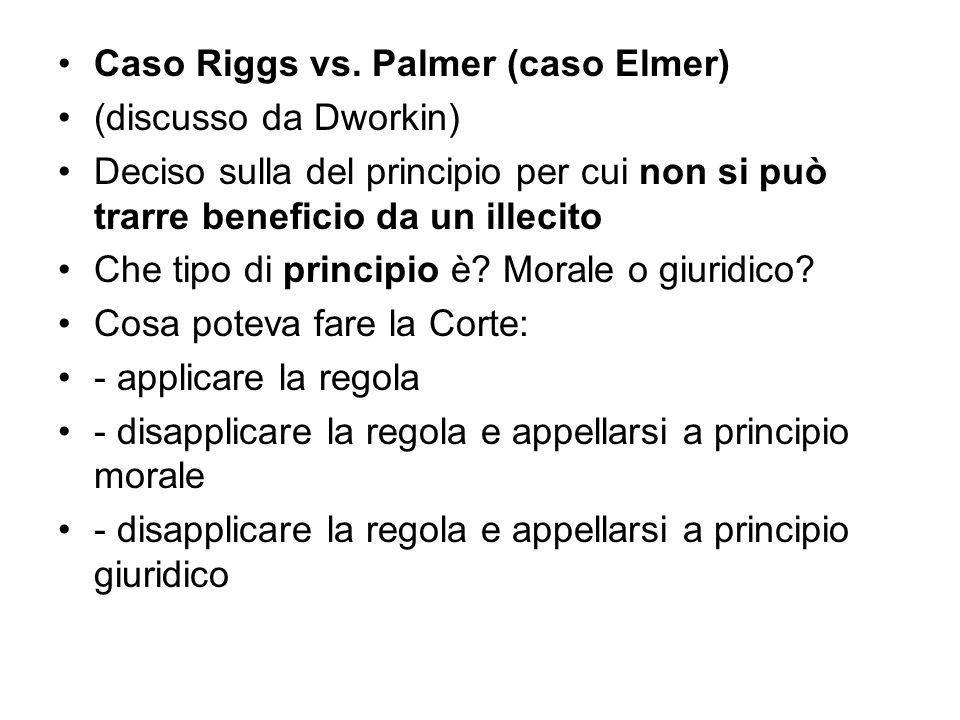 Caso Riggs vs. Palmer (caso Elmer)