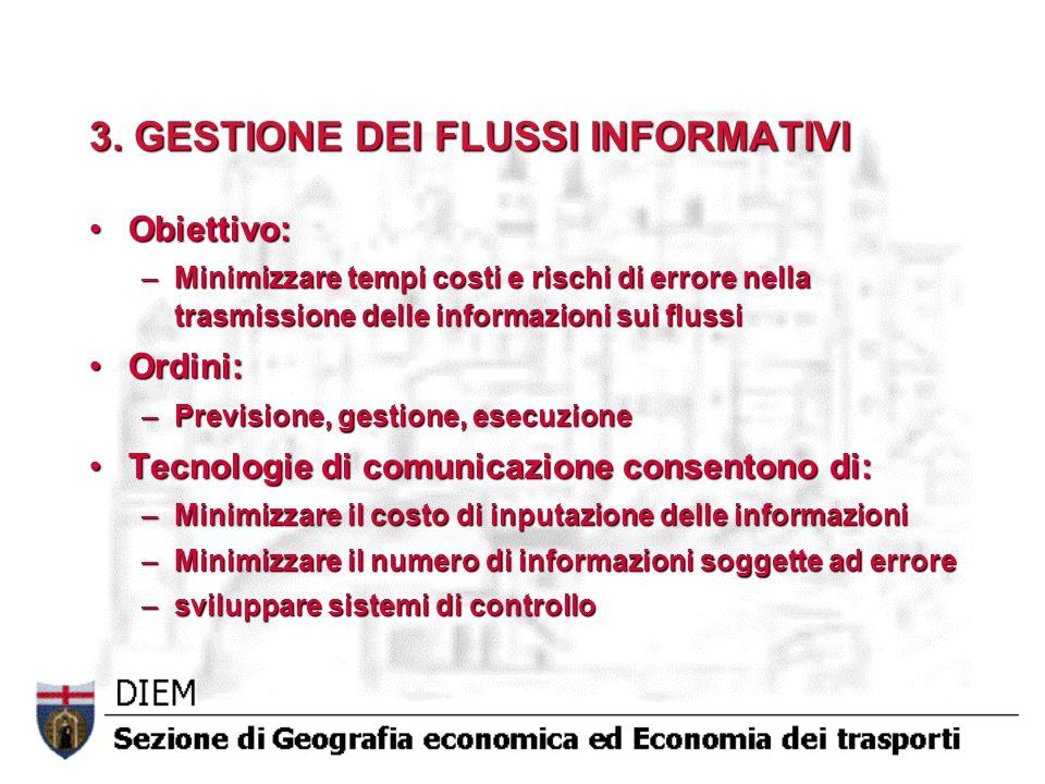 3. GESTIONE DEI FLUSSI INFORMATIVI