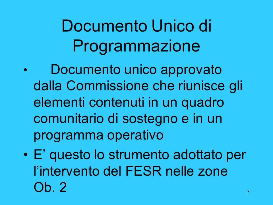 Documento Unico di Programmazione