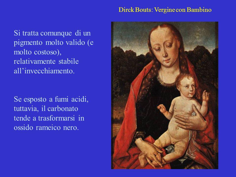 Dirck Bouts: Vergine con Bambino