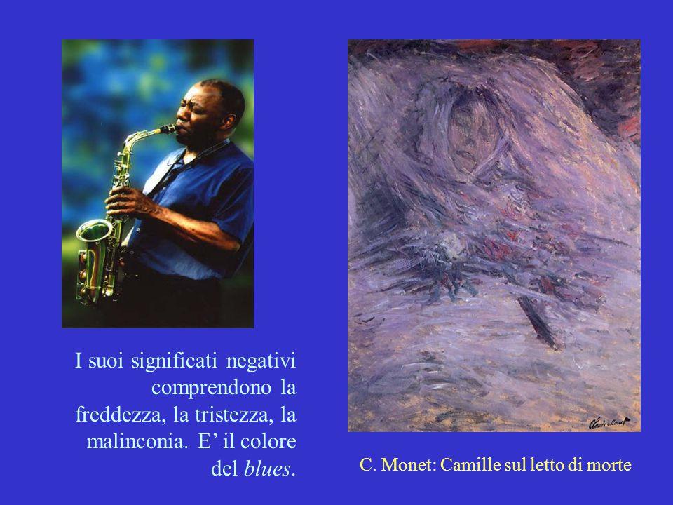 C. Monet: Camille sul letto di morte