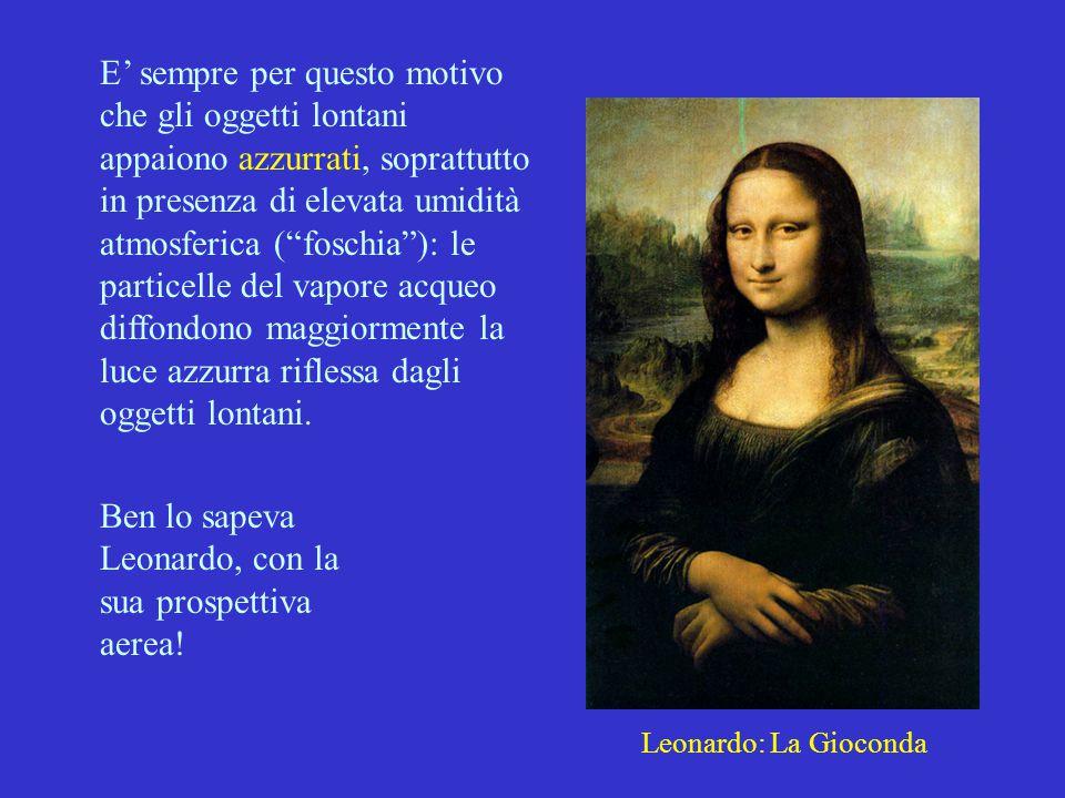 Ben lo sapeva Leonardo, con la sua prospettiva aerea!