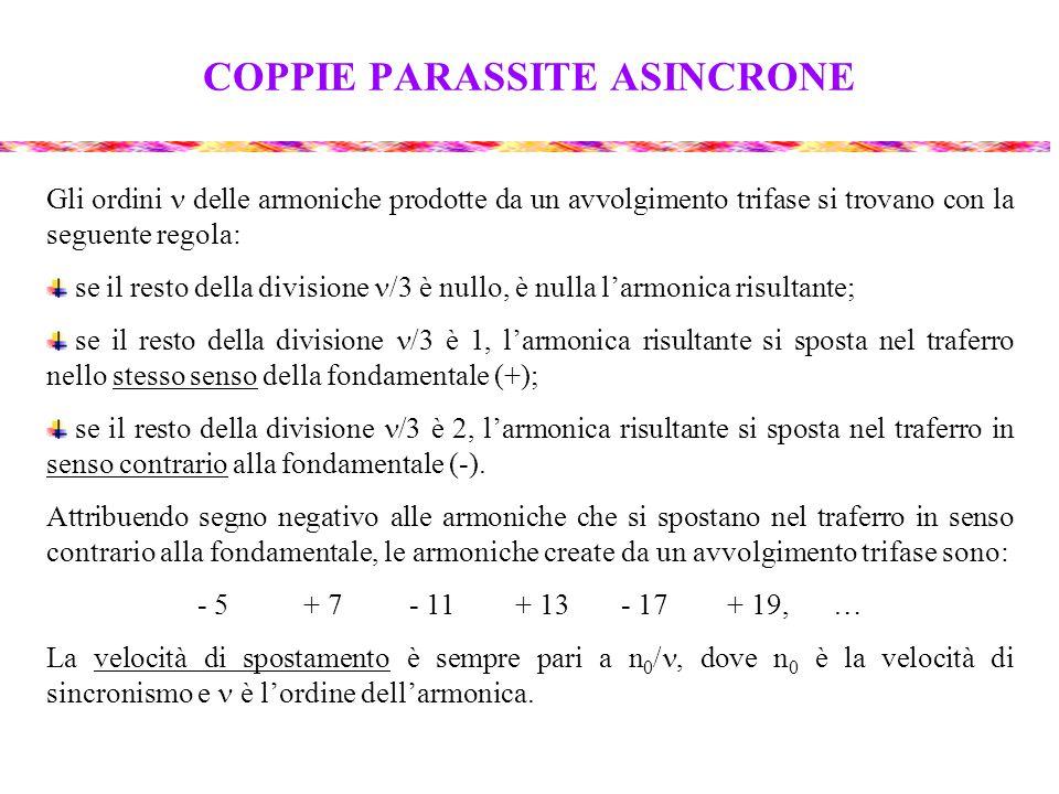 COPPIE PARASSITE ASINCRONE