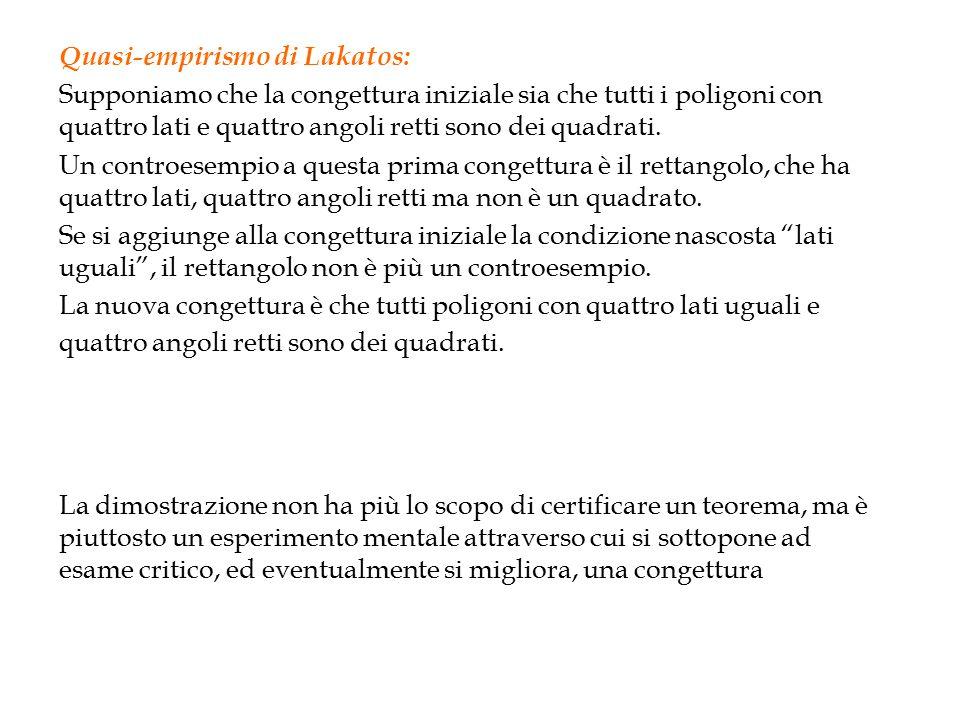 Quasi-empirismo di Lakatos: