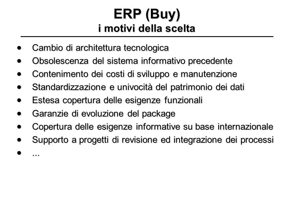 ERP (Buy) i motivi della scelta