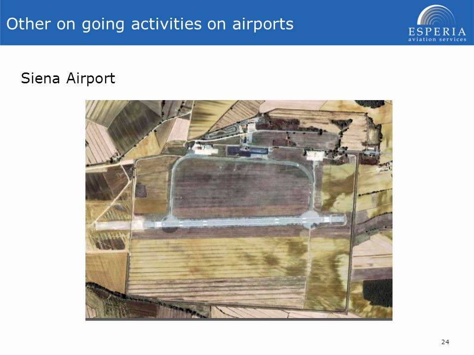 Other on going activities on airports