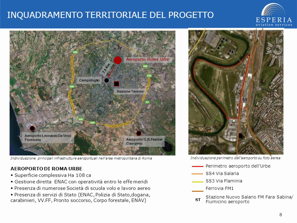 INQUADRAMENTO TERRITORIALE DEL PROGETTO
