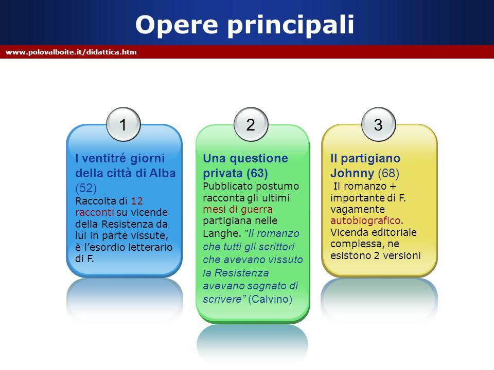 Opere principali 1 3 2 I ventitré giorni della città di Alba (52)