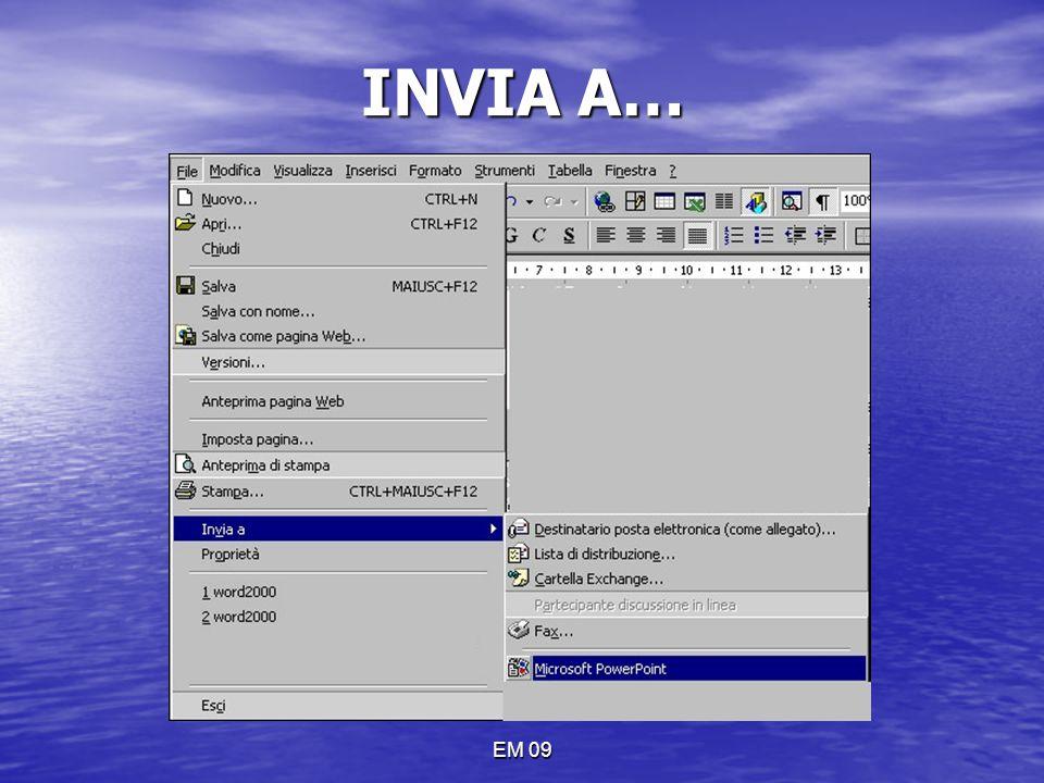INVIA A… EM 09