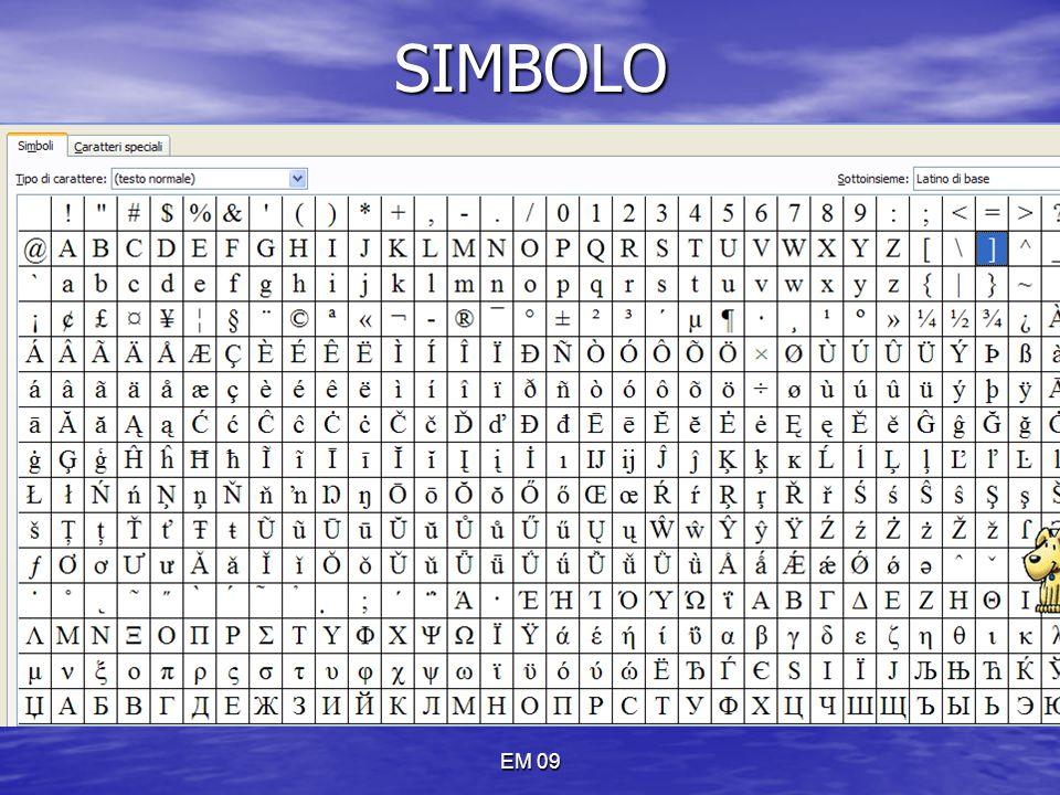 SIMBOLO EM 09
