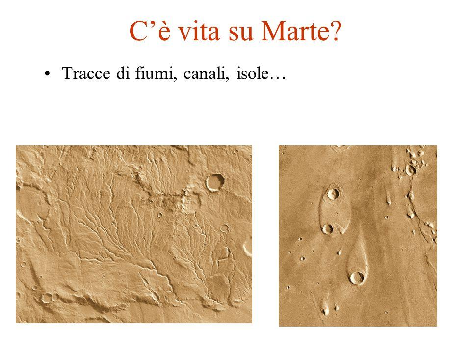 C'è vita su Marte Tracce di fiumi, canali, isole…
