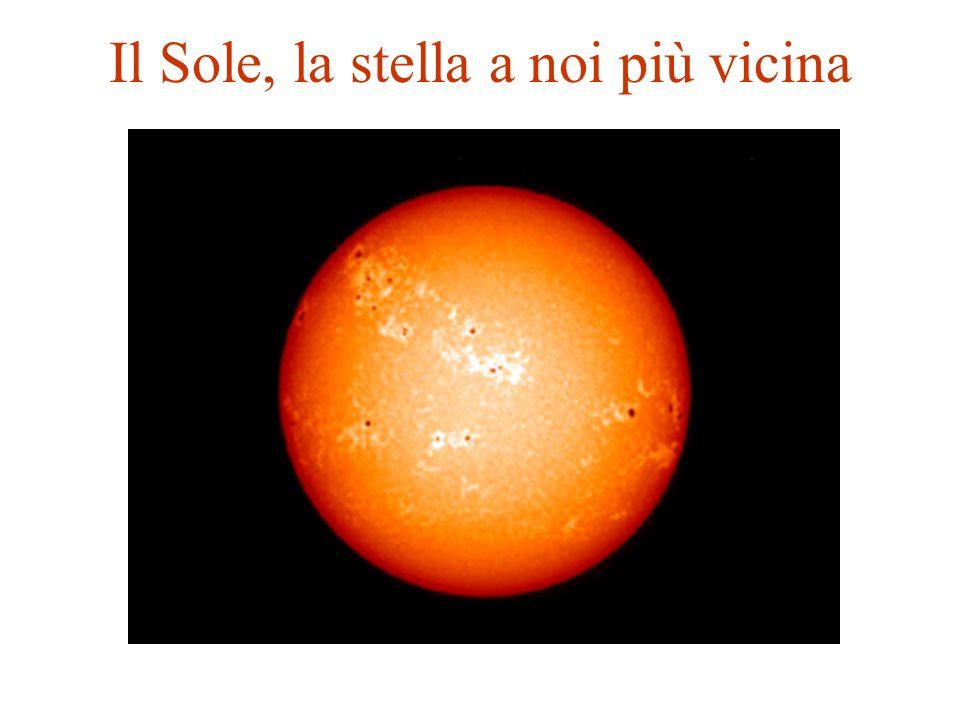 Il Sole, la stella a noi più vicina