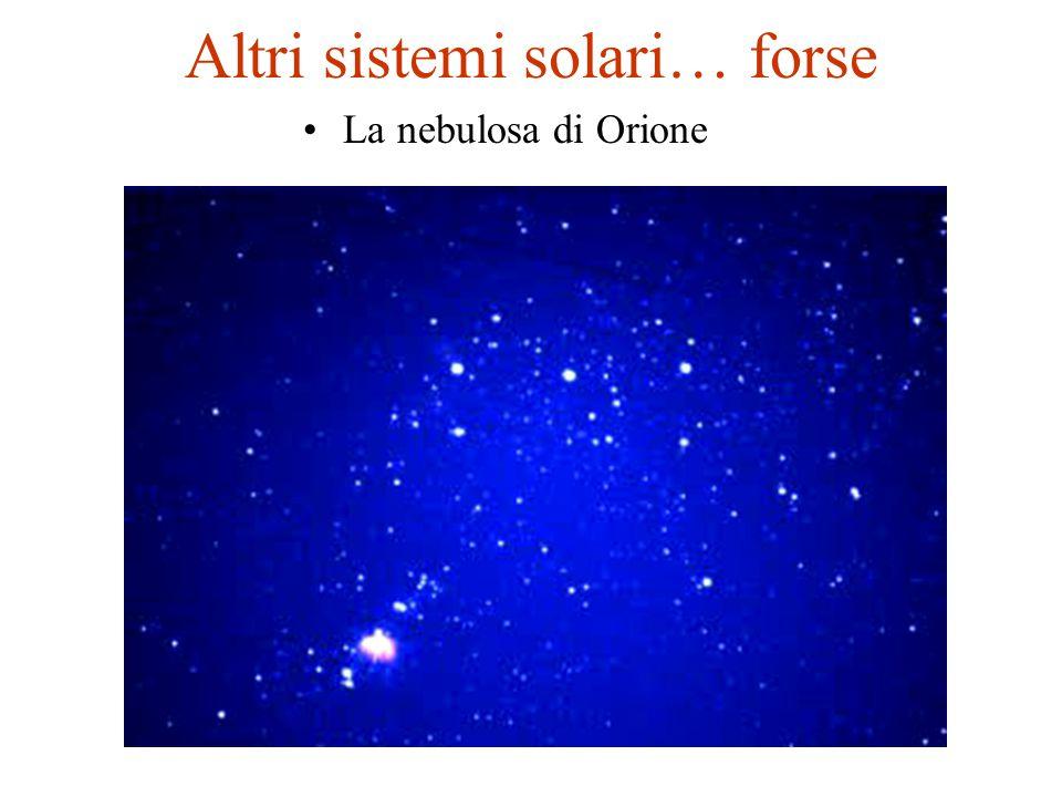 Altri sistemi solari… forse