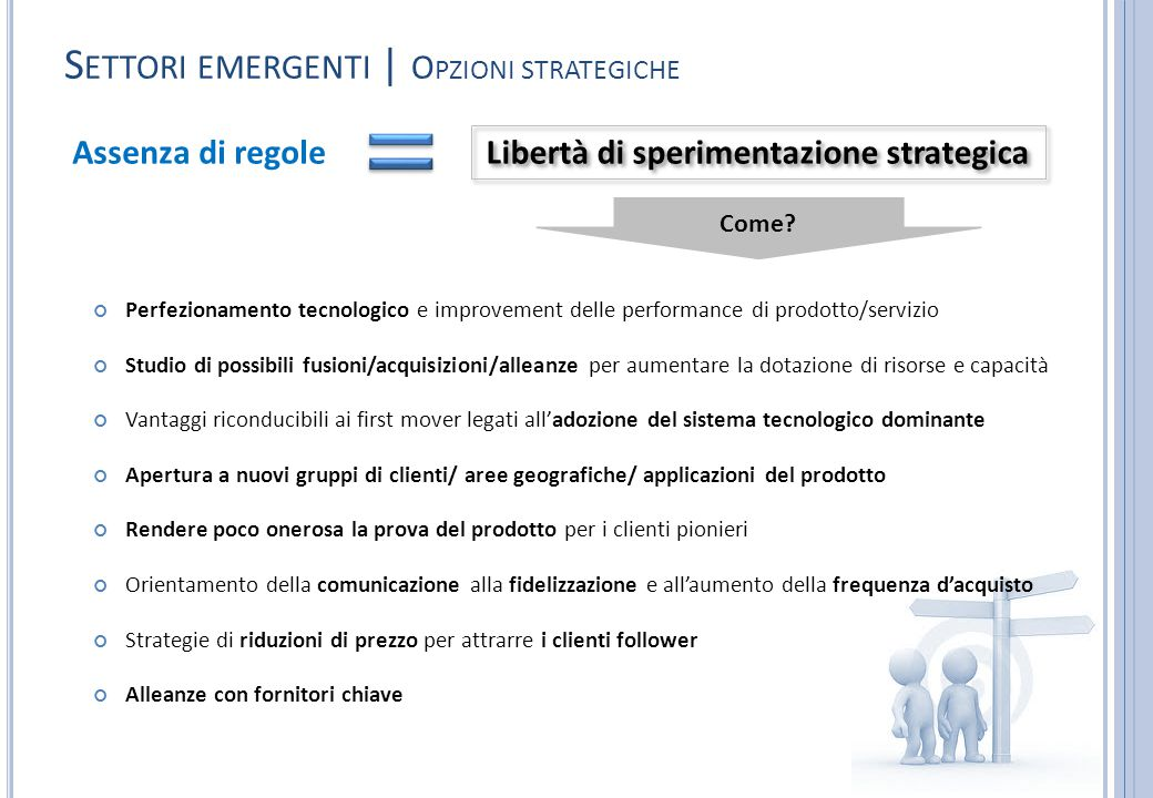Libertà di sperimentazione strategica