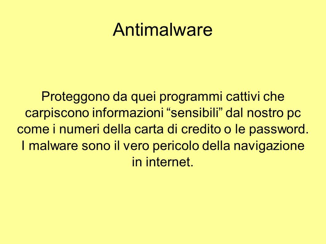 I malware sono il vero pericolo della navigazione in internet.
