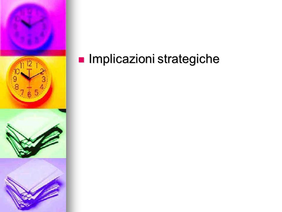 Implicazioni strategiche