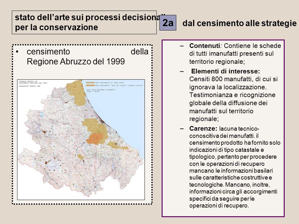 2a stato dell'arte sui processi decisionali per la conservazione