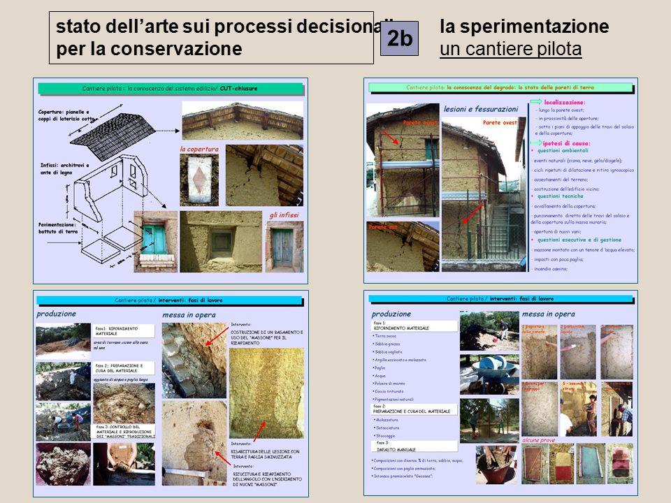 2b stato dell'arte sui processi decisionali per la conservazione