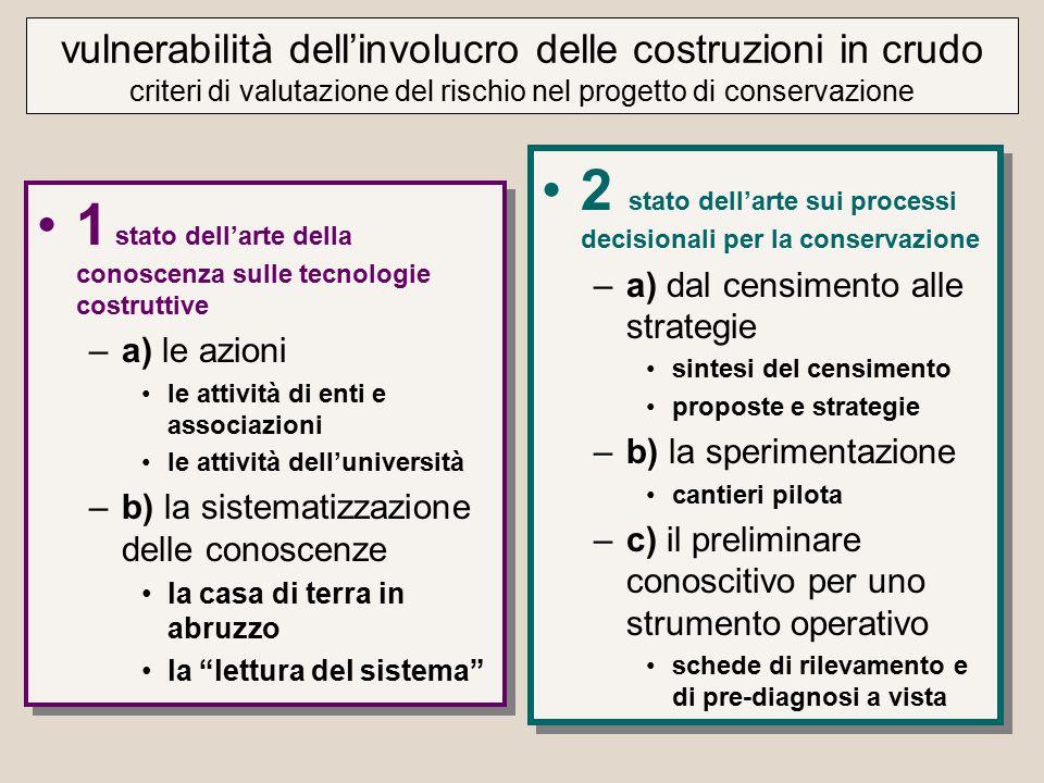 2 stato dell'arte sui processi decisionali per la conservazione
