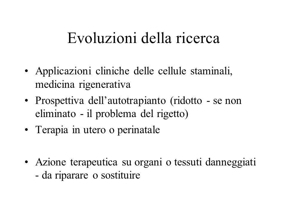 Evoluzioni della ricerca