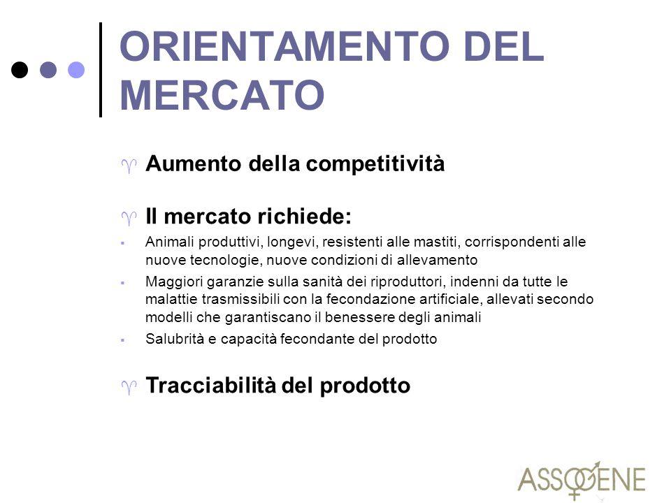 ORIENTAMENTO DEL MERCATO