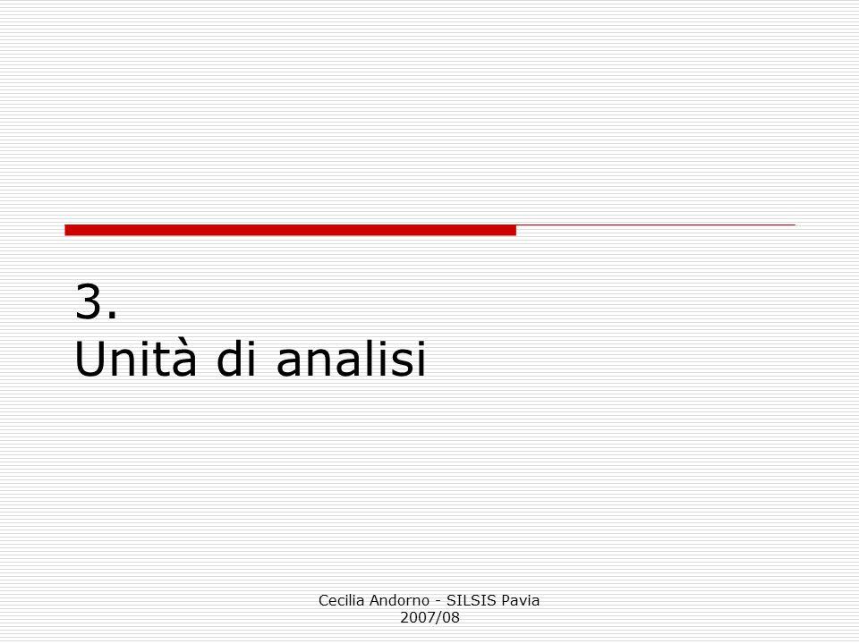 Cecilia Andorno - SILSIS Pavia 2007/08