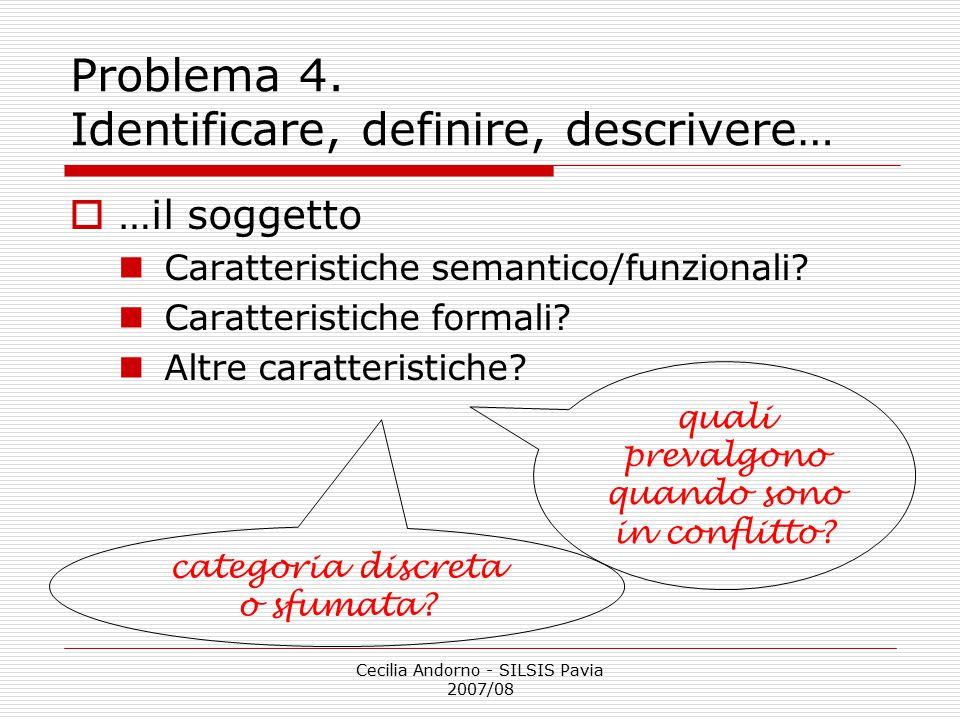 Problema 4. Identificare, definire, descrivere…