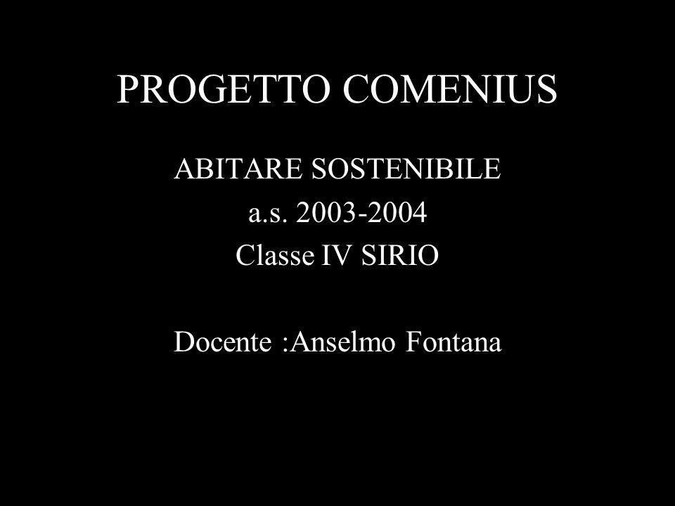 Docente :Anselmo Fontana