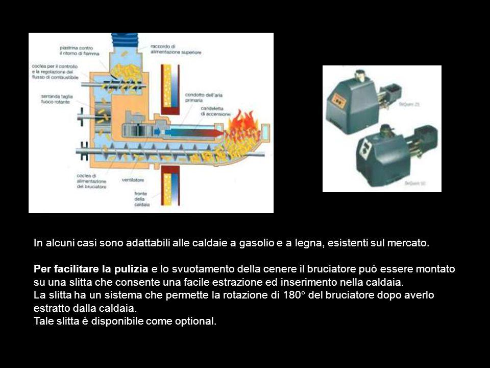 In alcuni casi sono adattabili alle caldaie a gasolio e a legna, esistenti sul mercato.