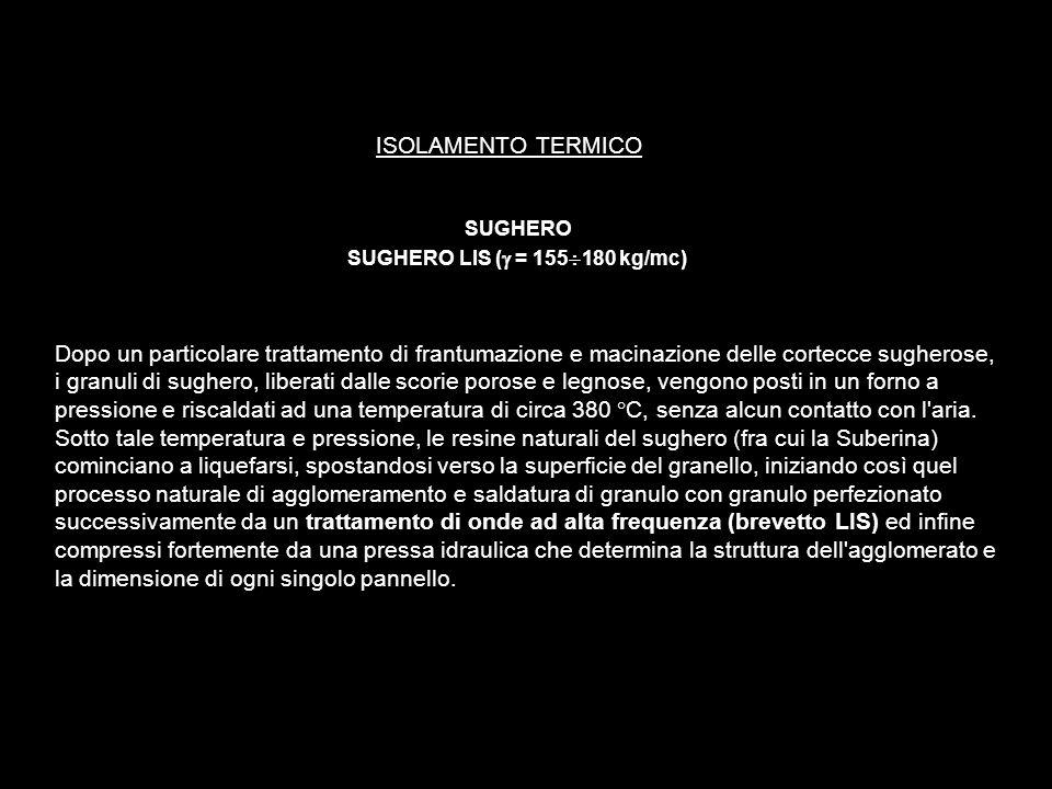 SUGHERO SUGHERO LIS (g = 155¸180 kg/mc)