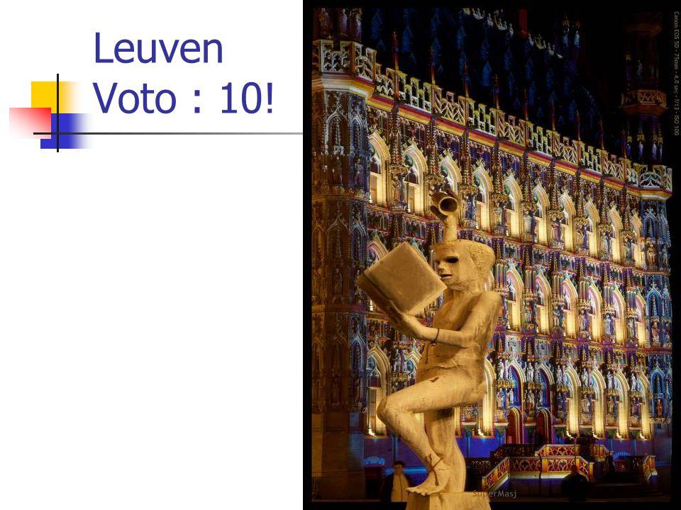 Leuven Voto : 10!