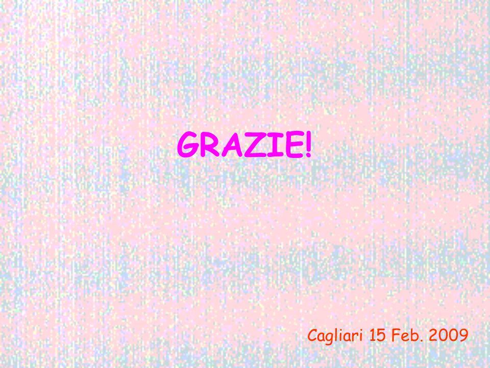 GRAZIE! Cagliari 15 Feb. 2009