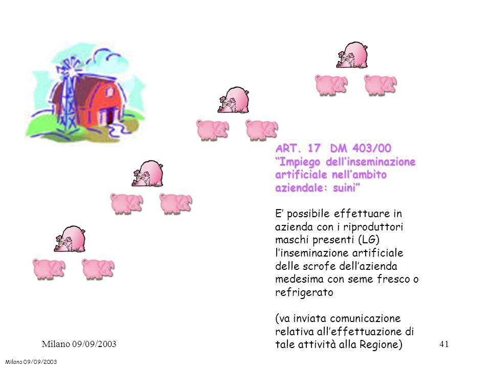 Impiego dell'inseminazione artificiale nell'ambito aziendale: suini