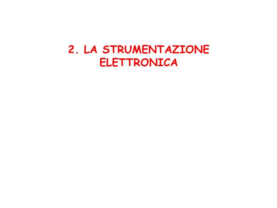 2. LA STRUMENTAZIONE ELETTRONICA