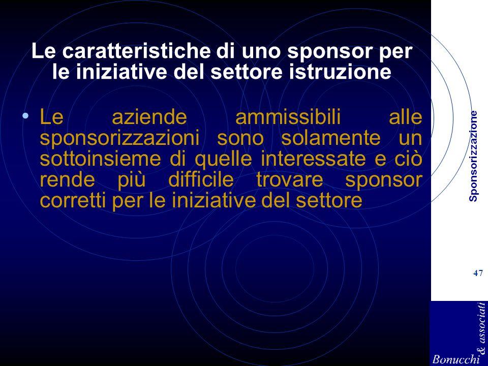 Le caratteristiche di uno sponsor per le iniziative del settore istruzione