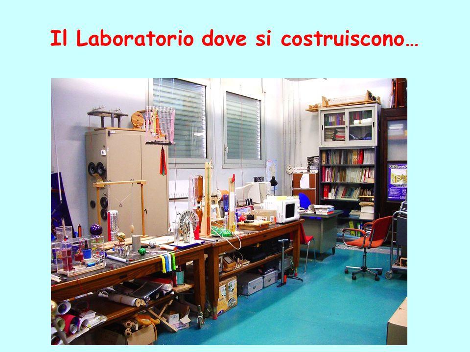 Il Laboratorio dove si costruiscono…