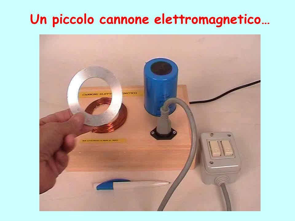 Un piccolo cannone elettromagnetico…