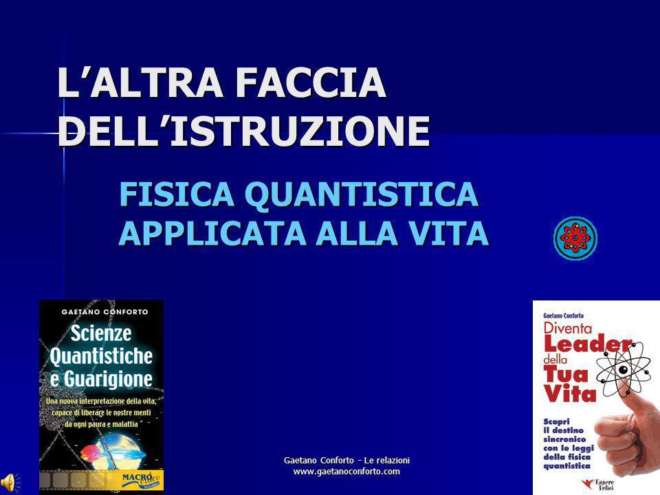 L'ALTRA FACCIA DELL'ISTRUZIONE