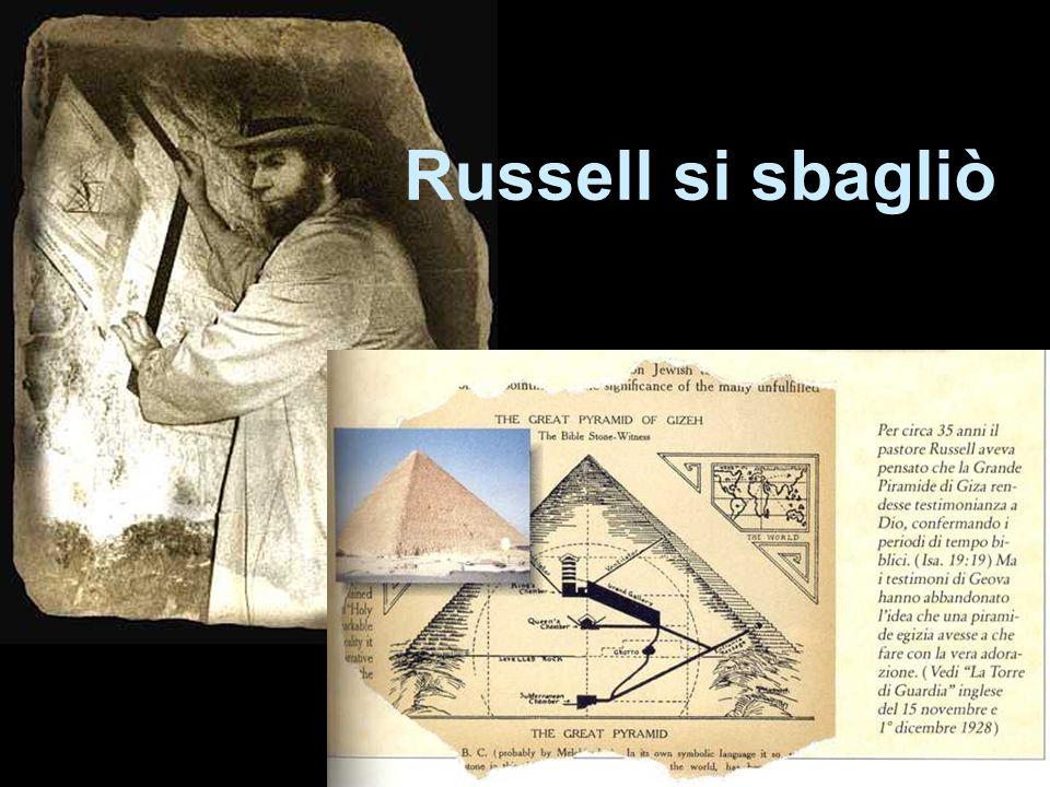 Russell si sbagliò