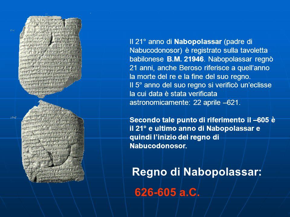Regno di Nabopolassar: